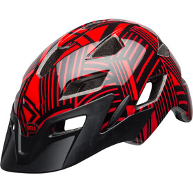 Bell Sidetrack Helmet Youth red/black seeker